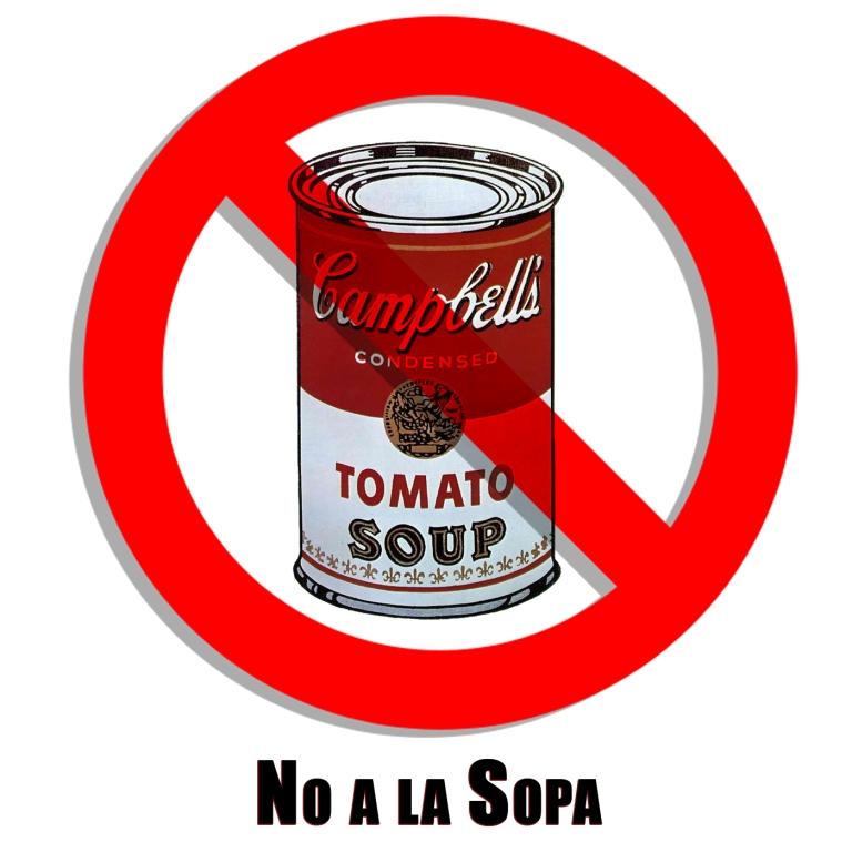 No to Sopa by Ave Valencia