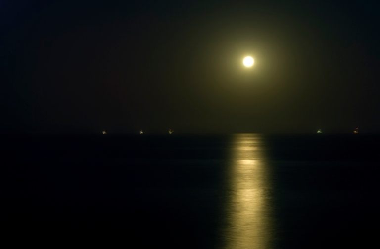 Full Moon on Summer Solstice 2 by Ave Valencia