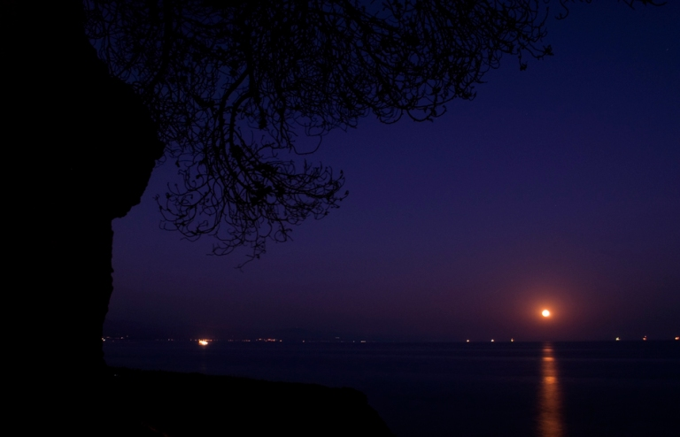Full Moon on Summer Solstice 1 by Ave Valencia