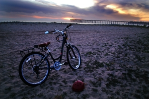 Sunset Bike by Ave Valencia