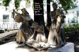 Polio Ninja Nuns Statue, 15