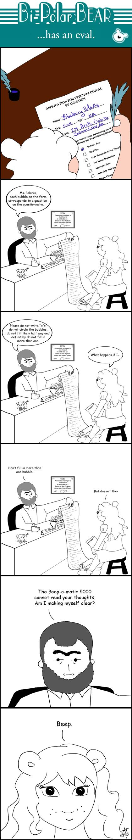 Bipolar Bear Psychological Evaluation