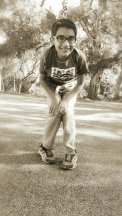 boy swing Santa Barbara Rocky Nook Park
