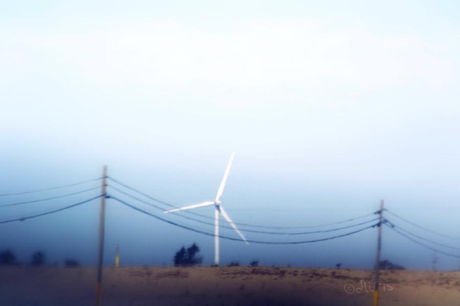 Wind Turbine Santa Ynez Valley