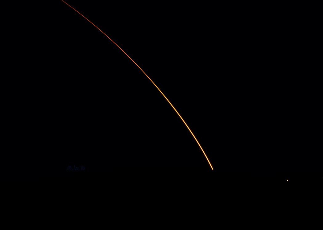 Delta ii rocket launch