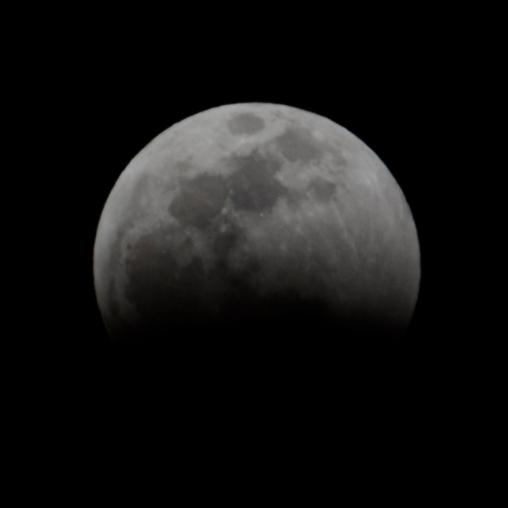 lunar eclipse, 1/3 initial coverage